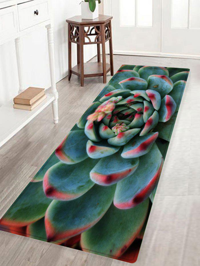 2019 Succulents Pattern Anti Skid Water Absorption Area