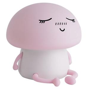Cartoon Mushroom LED USB Rechargeable Night Light -