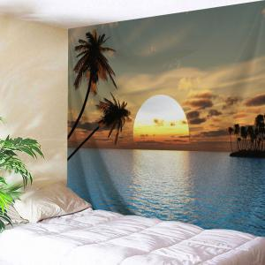 Sea Sunset Wall Art Home Decor Tapestry