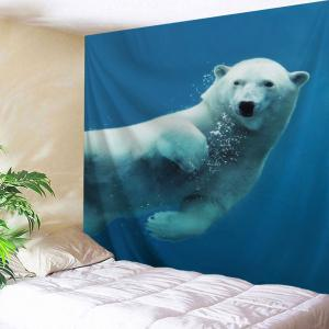 Sea Bear Print Home Decoration Wall Tapestry