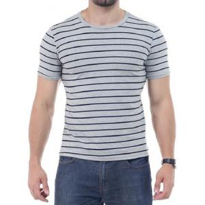 Striped Short Sleeves T-shirt