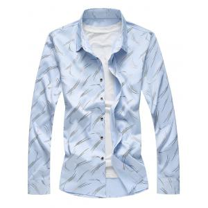 All Over Printed Button Up Shirt