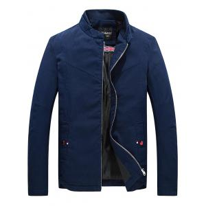 The Union Jack Print Zip Up Jacket