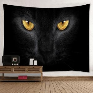 Cat Print Tapestry Wall Hanging Art Decoration