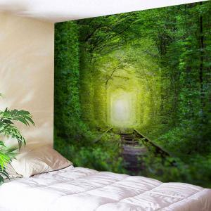 Wall Hanging Fairy Forest Railway Tapestry