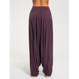 Pantalons Harem Bottom Down Bottom - Bordeaux XL