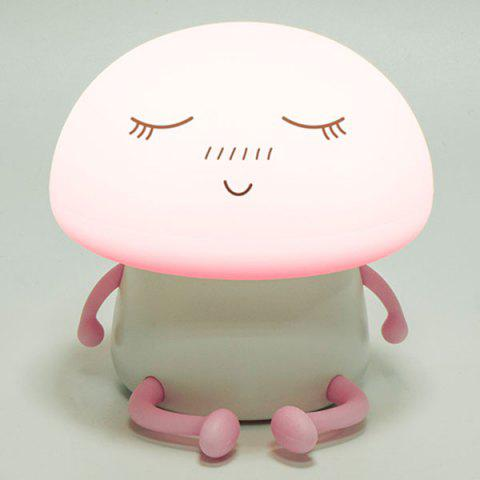 Sale Cartoon Mushroom LED USB Rechargeable Night Light