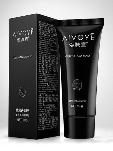 Outfit Bamboo Charcoal Pore Cleaner Blackhead Removal Mask - BLACK  Mobile