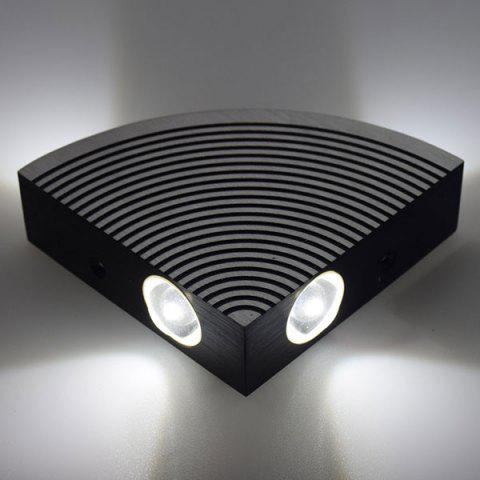 Online Aluminum LED Sector Wall Lamp for Bedroom