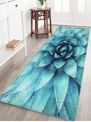 Succulent Plant Pattern Anti-skid Water Absorption Area Rug