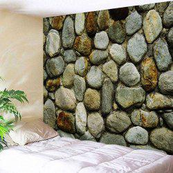 Stone Wall Print Fabric Decorative Tapestry