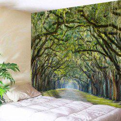 Alameda Print Wall Hanging Tapestry For Bedroom - Vert