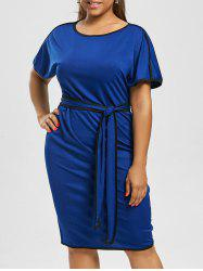 Plus Size Knee Length Modest Dress