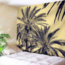 Sky and Coconut Trees Print Wall Hanging Tapestry