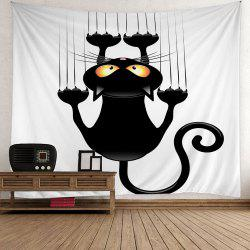 Home Decor Halloween Black Cat Wall Tapestry