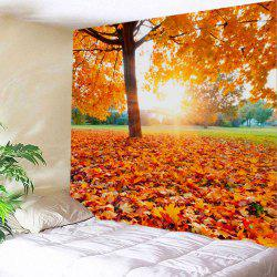 Maple Tree Leaf Sunlight Wall Hanging Tapestry