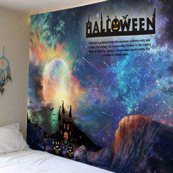 Halloween Galaxy Print Tapestry Wall Hanging Art Decoration