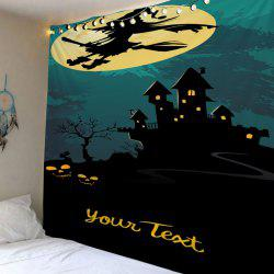 Halloween Castle Print Tapestry Wall Hanging Art Decoration