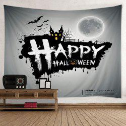 Happy Halloween Print Tapestry Wall Hanging Art Decoration