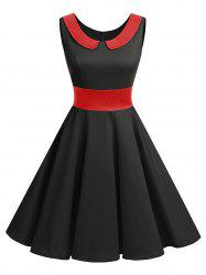 Peter Pan Collar Vintage Pin Up Dress