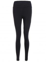 High Waist Fitted Sport Pants