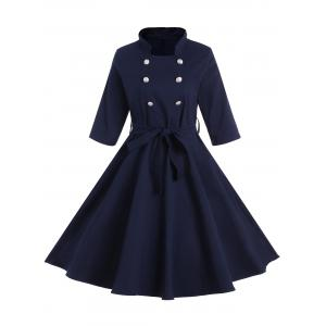 Buttoned Pin Up Dress