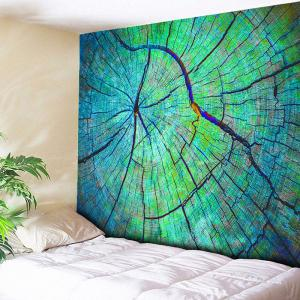 Wood Grain Printed Tapestry Wall Hanging