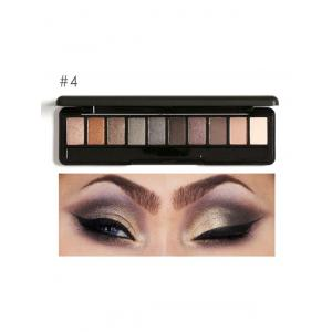 Smoky Earth Color Eyeshadow Kit - #04