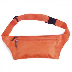 Light Weight Nylon Sport Wasit Bag - Orange - 38
