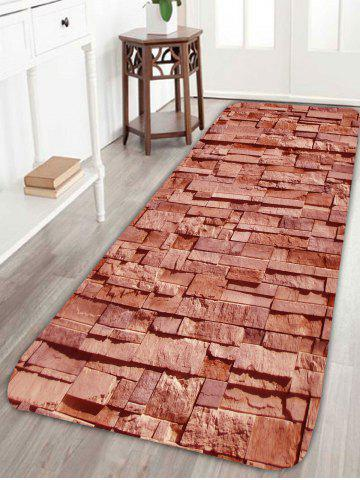 Home Entrance Brick Pattern Extra Large Area Rug