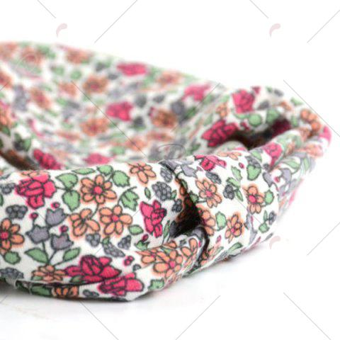 Outfit Vintage Tiny Flowers Pattern Snood - RED  Mobile