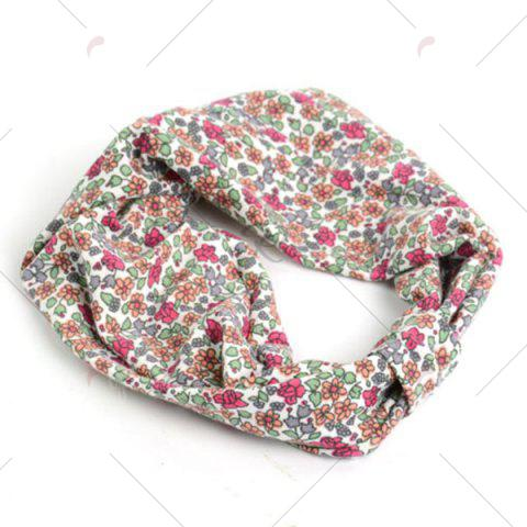 Best Vintage Tiny Flowers Pattern Snood - RED  Mobile