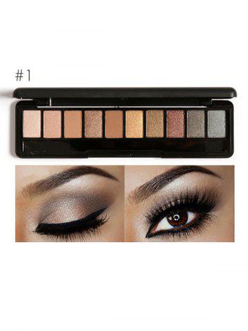 Fancy Smoky Earth Color Eyeshadow Kit #01