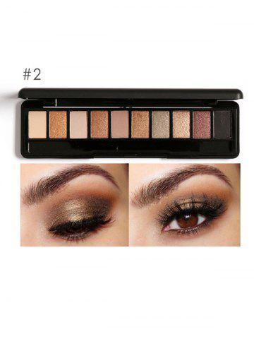Store Smoky Earth Color Eyeshadow Kit #02