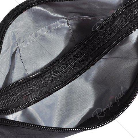 Buy Light Weight Nylon Sport Wasit Bag - SILVER  Mobile