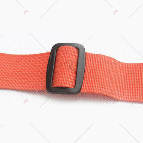 Outfit Light Weight Nylon Sport Wasit Bag - ORANGE  Mobile