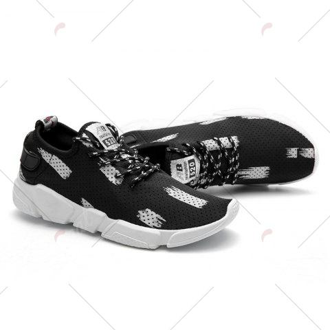 Outfit Breathable Stretch Fabric Casual Shoes - 40 GRAY Mobile
