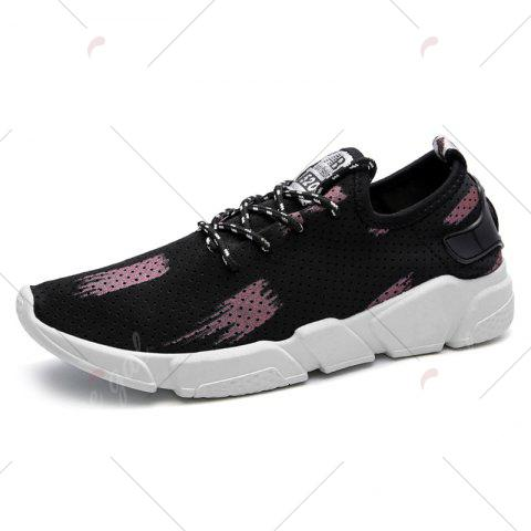 Online Breathable Stretch Fabric Casual Shoes - 43 BEGONIA Mobile