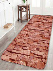 Home Entrance Brick Pattern Extra Large Area Rug -