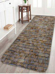 Anti Slip Brick Wall Design Indoor Floor Rug
