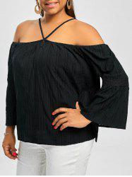 Straps Off The Shoulder Plus Size Top