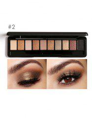 Smoky Earth Color Eyeshadow Kit - #02