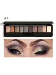 Smoky Earth Color Eyeshadow Kit