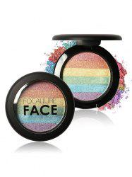 Cosmétiques Maquillage Rainbow Highlighter Powder - 01#