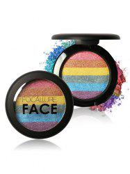Cosmétiques Maquillage Rainbow Highlighter Powder - 02#