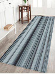 Wood Grain Pattern Anti-skid Water Absorption Area Rug