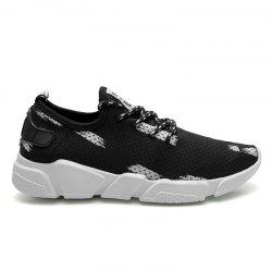 Breathable Stretch Fabric Casual Shoes