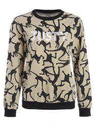 Justy Embroidered Sweatshirt