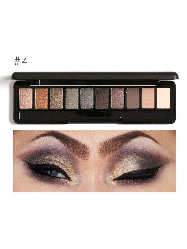 Smoky Earth Color Eyeshadow KitBEAUTY<br><br>Color: #04; Category: Shadow; Type: Cream; Features: Eco-friendly,Limits Bacteria; Season: Fall,Spring,Summer,Winter; Weight: 0.0900kg; Package Contents: 1 x Eyeshadow Kit;
