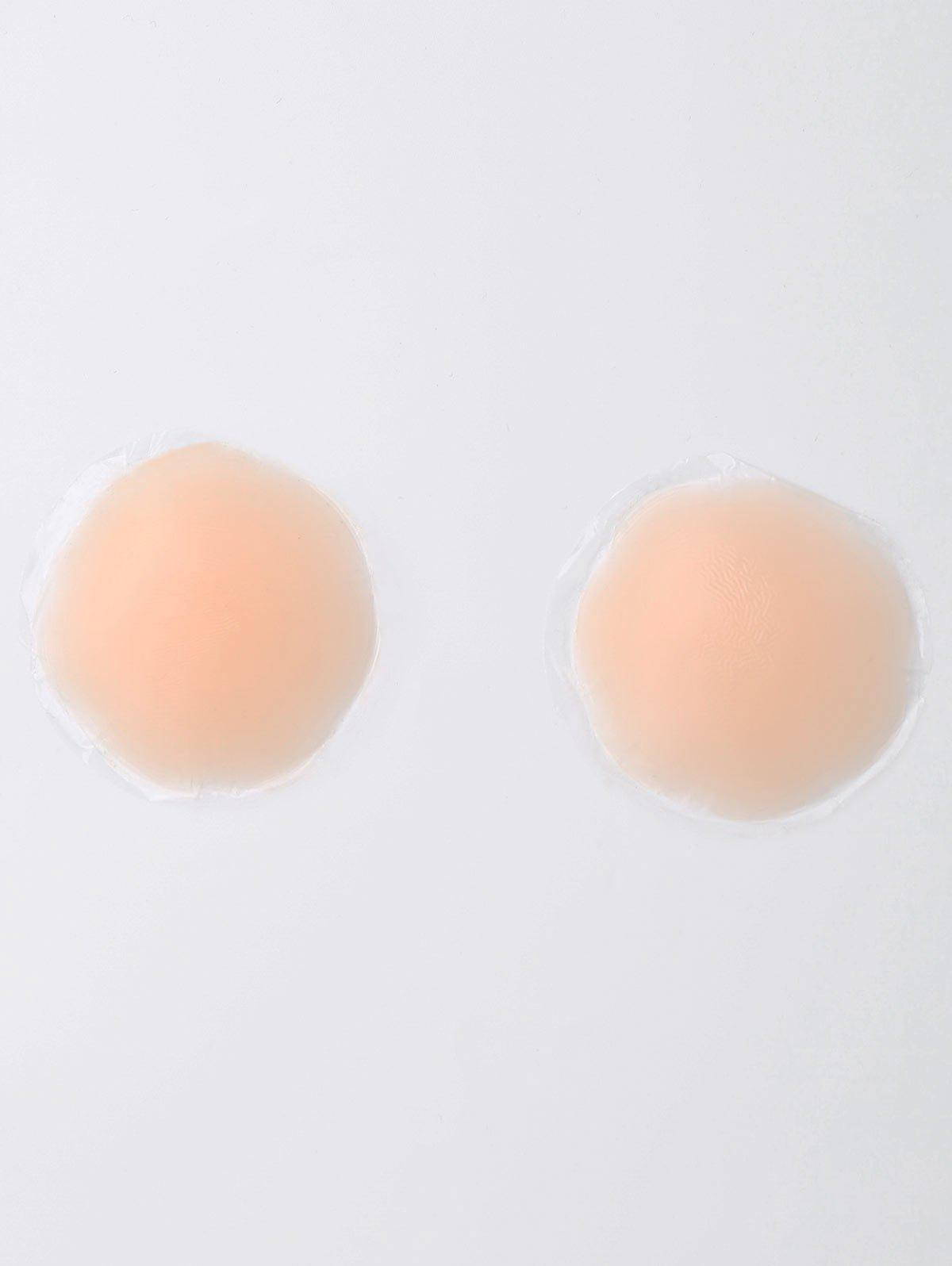 Petal Silicone Nipple Cover PadWOMEN<br><br>Size: ONE SIZE; Color: COMPLEXION; Intimates Accessories Type: Breast Petal; Material: Silicone; Weight: 0.1000kg; Package Contents: 1 x Nipple Pad(Pair);